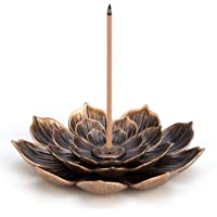 Brass Lotus Censer Stick Incense Holder Cone Incense Burner Ash Catcher Home Fragrance Accessories (1)