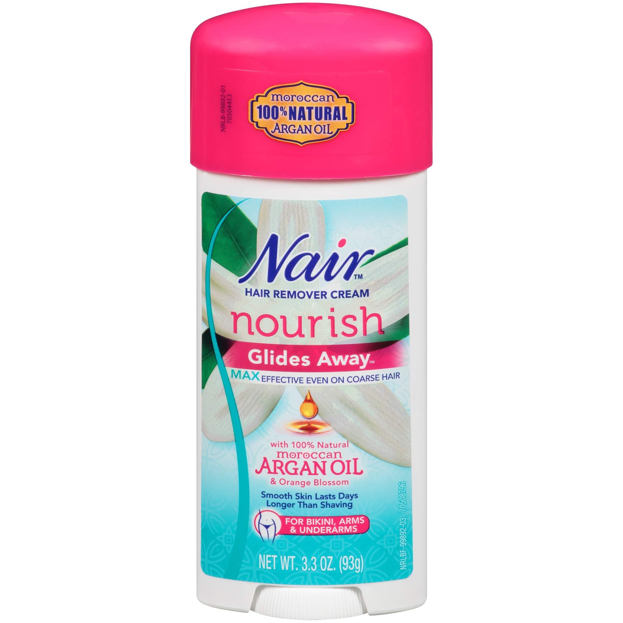 Nair Hair Remover Glides Away Hair Removal Cream 3.3 oz