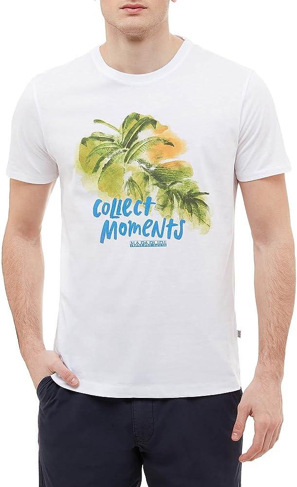 Napapijri Camiseta N0YHCN L16 SOYO FANTSY: Amazon.es: Ropa y accesorios