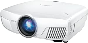 Epson Home Cinema 4000 3LCD Home Theater Projector with 4K Enhancement, HDR10, 100% Balanced Color and White Brightness and Ultra Wide DCI-P3 Color Gamut (Renewed)