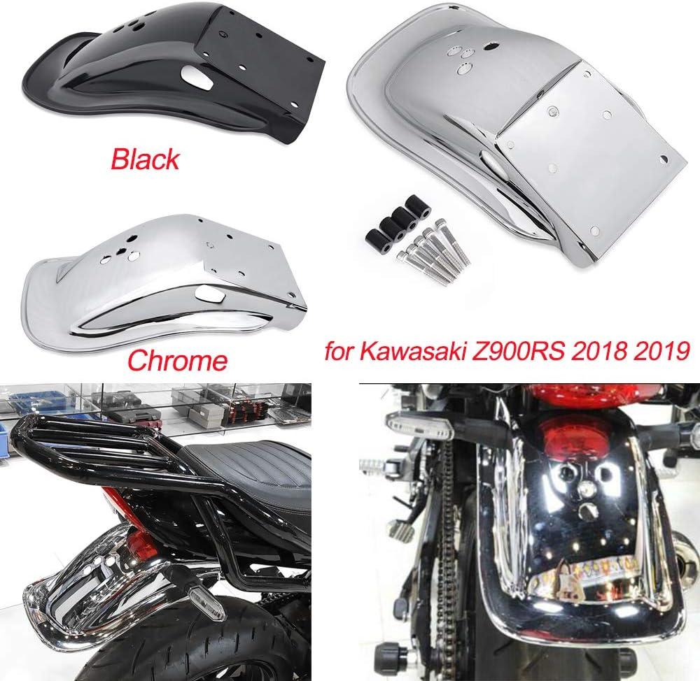 Chrome Accessoires de moto 18 19 Z 900 RS ABS Pneu arri/ère Hugger Garde-boue for 2018 2019 Kawasaki Z900RS Z 900RS