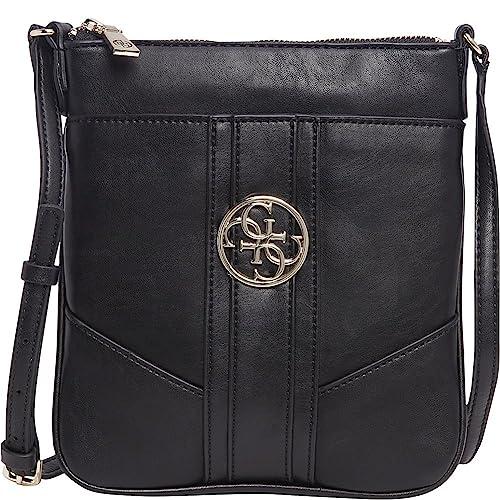 c211cc3fdf3 Guess Womens Lena Mini Crossbody Bag Black  Amazon.co.uk  Shoes   Bags