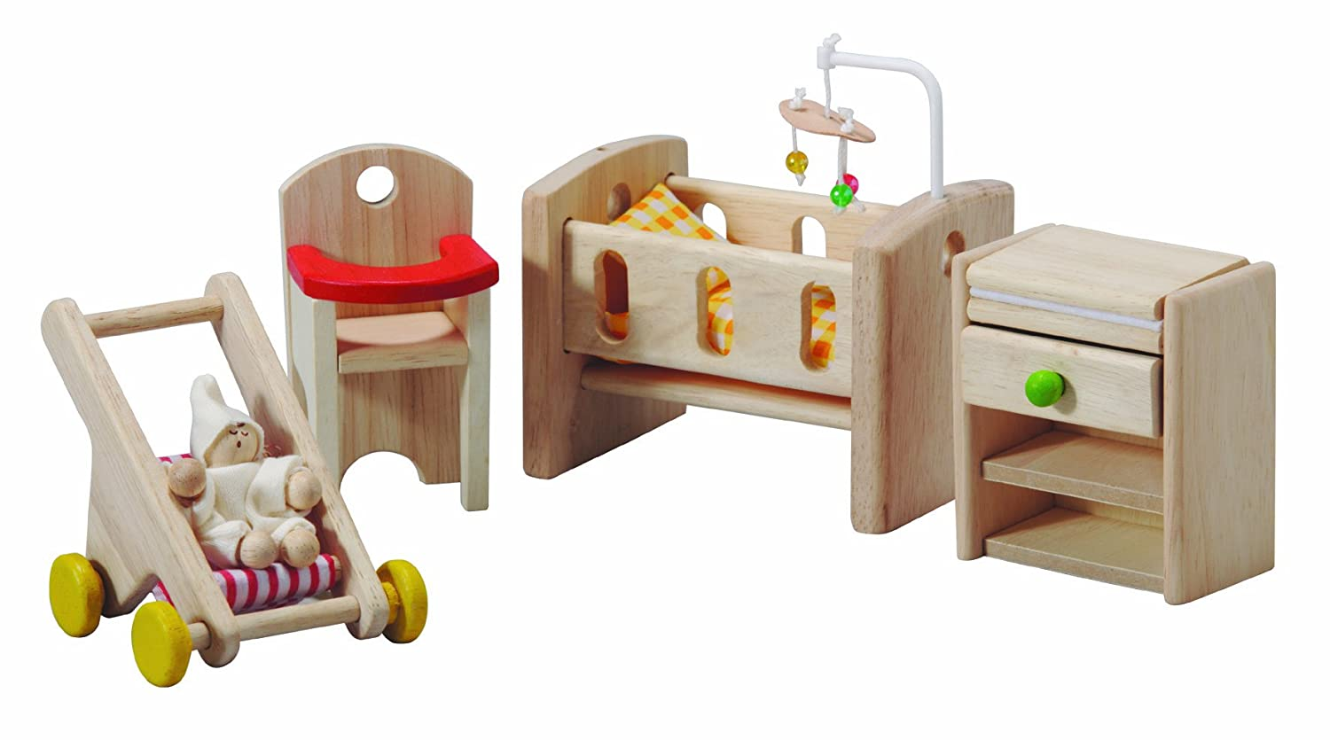 Amazon com plan toy doll house nursery toys games