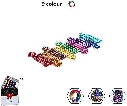 Magnetische ballen 5 mm multi gekleurde magneten | 216