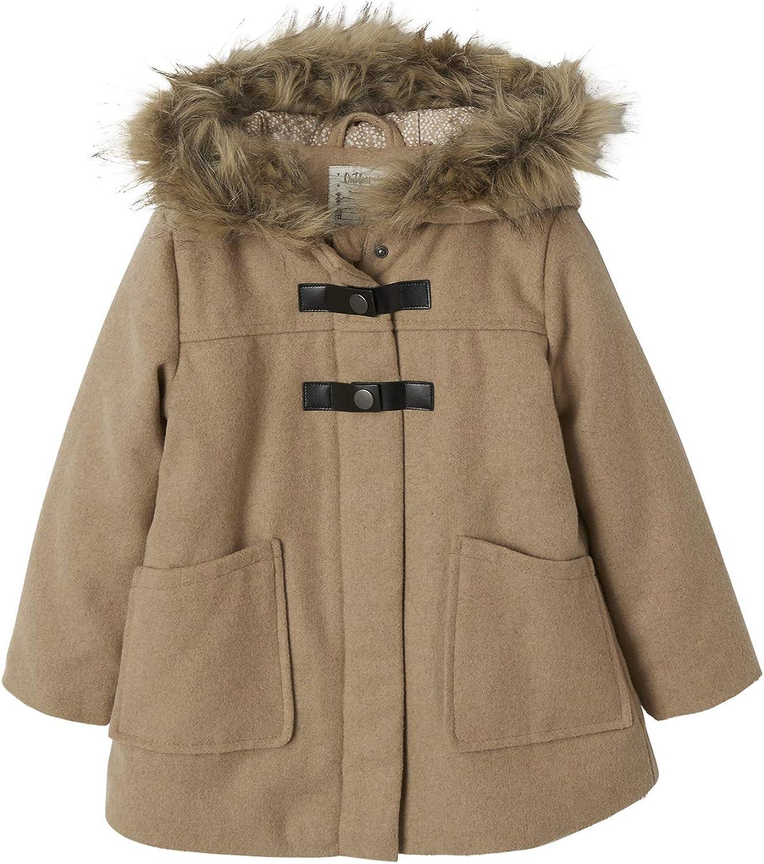Vertbaudet Manteau /à Capuche b/éb/é Fille