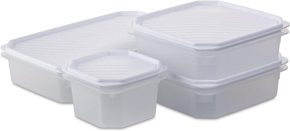 TATAY 1169001 - Set de 4 contenedores de alimentos herméticos ...
