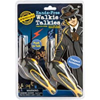 Westminster Hands Free Walkie Talkie, Black/Yellow
