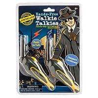 Westminster Hands Free Walkie Talkie, Black/Yellow