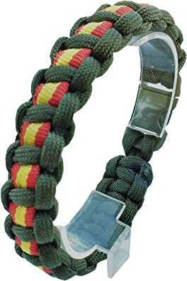 LGP - Pulsera Paracord Green Line Guardia Civil - Bandera de ...