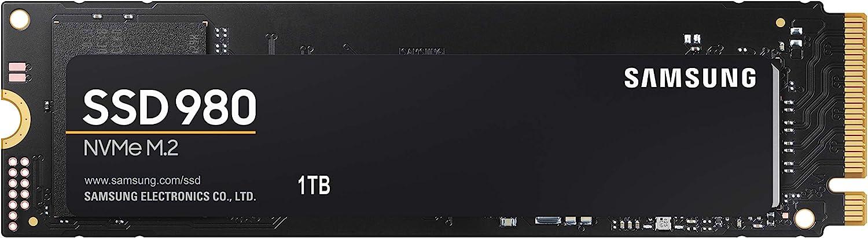 Samsung (MZ-V8V1T0B/AM) 980 SSD 1TB - M.2 NVMe Interface Internal Solid State Drive with V-NAND Technology