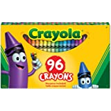 Crayola 52-0096 96 Crayons, School and Craft Supplies, Gift for Boys and Girls, Kids, Ages 3,4, 5, 6 and Up, Back to school,