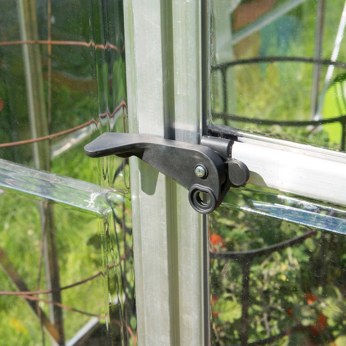 Palram Build /& Grow 6 ft Hybrid Greenhouse Kit x 10 ft