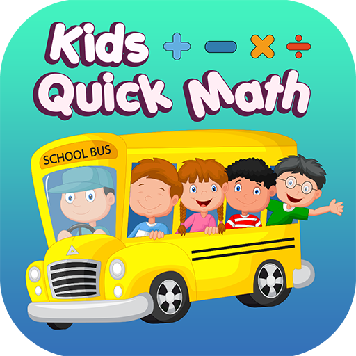 Kids Quick Math Game, Brain exercise testing fast calculating math quiz!