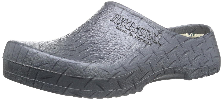 Birkenstock Super-Birki Steel Gray Metal Alpro-Foam Sandals Regular Width