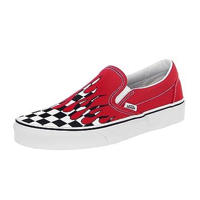 VANS - Sneakers - Classic Slip-PM - Checker Flame Racing ...