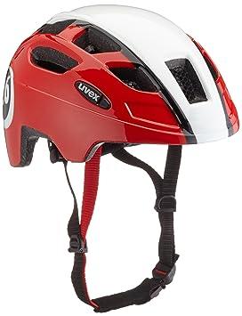 Uvex Finale Casco para Bicicleta de montaña de niño con luz LED, Infantil, Color