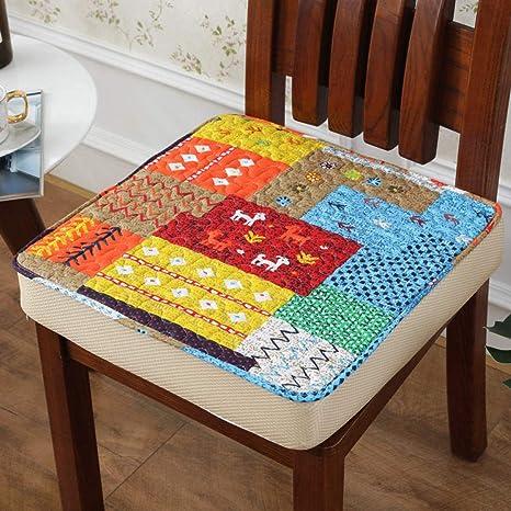 Amazon.com: Cojín para silla de comedor de invierno grueso y ...
