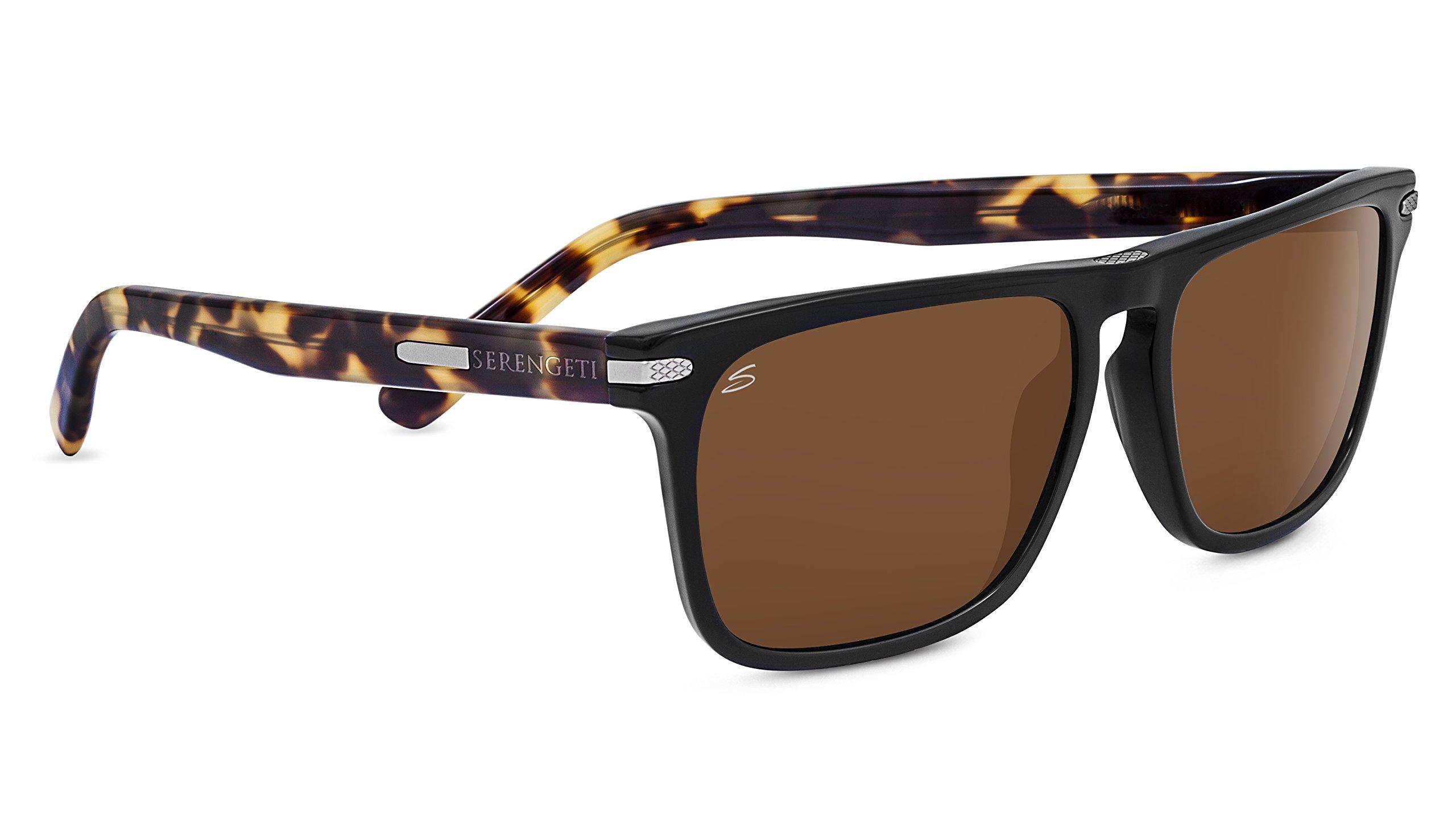 Serengeti 8323-Carlo Large Carlo Large Glasses, Black/Mossy Oak by Serengeti