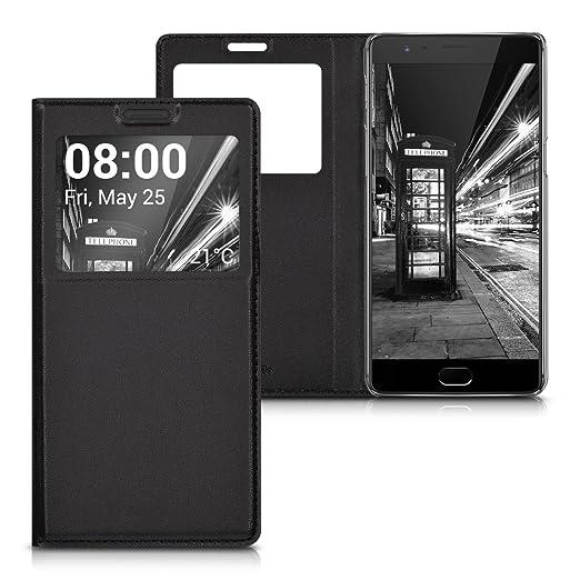2 opinioni per kwmobile Cover per OnePlus 3 / 3T- Custodia magnetica con apertura a libro e