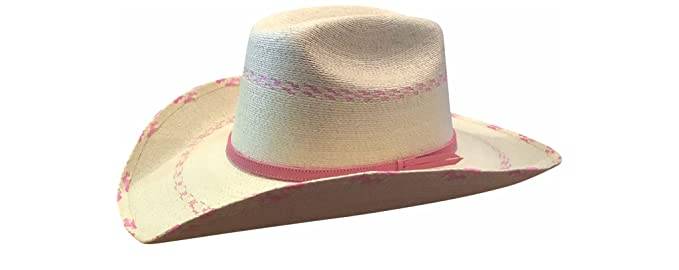 75a04dedf9070 Amazon.com  Atwood Kid s Pink Pinto Palm Leaf Hat  Infant And ...