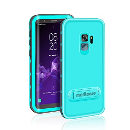 best sneakers f4817 f61bd Samsung Galaxy S9 Waterproof Case, Meritcase Full Body Protective ...