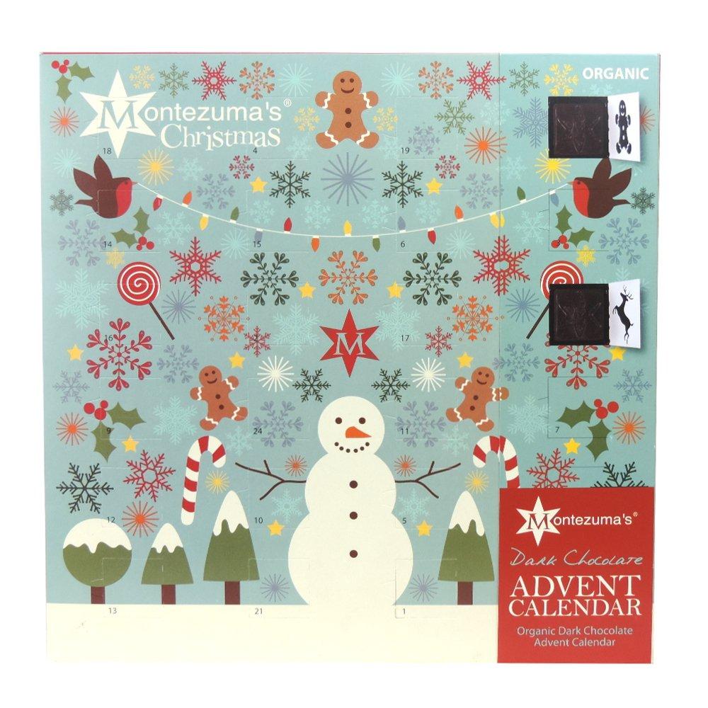 Amazon.com : Montezuma's - Dark Chocolate Advent Calendar - 240g ...