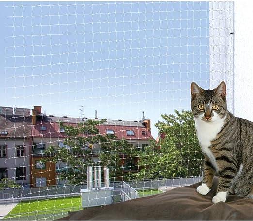 TRIXIE Red protección, 2 x 1.5 m, Transparente, Gato: Amazon.es: Jardín
