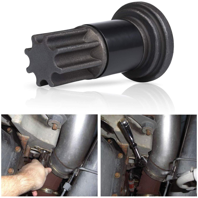 Jenaka Engine Barring Tool for Cummins B and C Series Diesel Engines /& Dodge Pickups 5.9L Liter Diesels