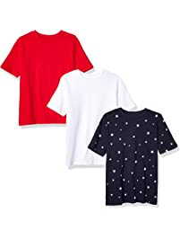 bad68278 Amazon Essentials Boys' 3-Pack Short Sleeve Tee