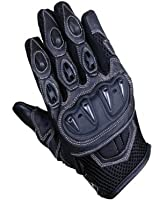 Juicy Trendz Heavy Duty Motorcycle Motorbike Cowhide Waterproof Leather Gloves Collection