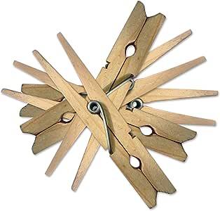 Pinzas de madera para ropa, de larga duración, de Simply ...