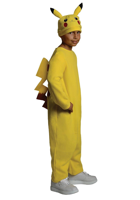 Generique Costume Pikachu Pokemon bambino 3 - 4 anni (98 104 cm)