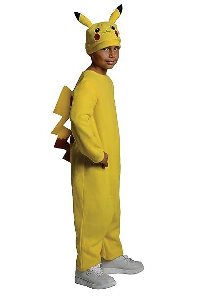 Generique - Disfraz de Pikachu Pokémon niño 3-4 años (98-104 ...