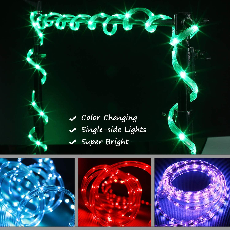 Waterproof USA 350 LED RGB Color Changing Light Strip Kit w// IR Remote 17FT