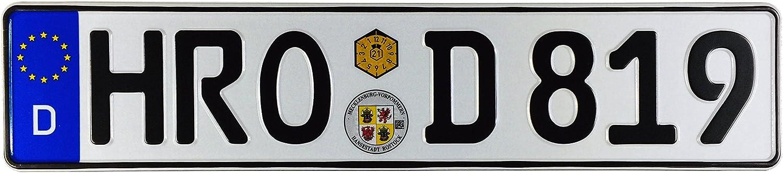 9/'/' Mecklenburg Vorpommern State Coat Of Arms Germany Car Sticker 12/'/' or 14/'/'