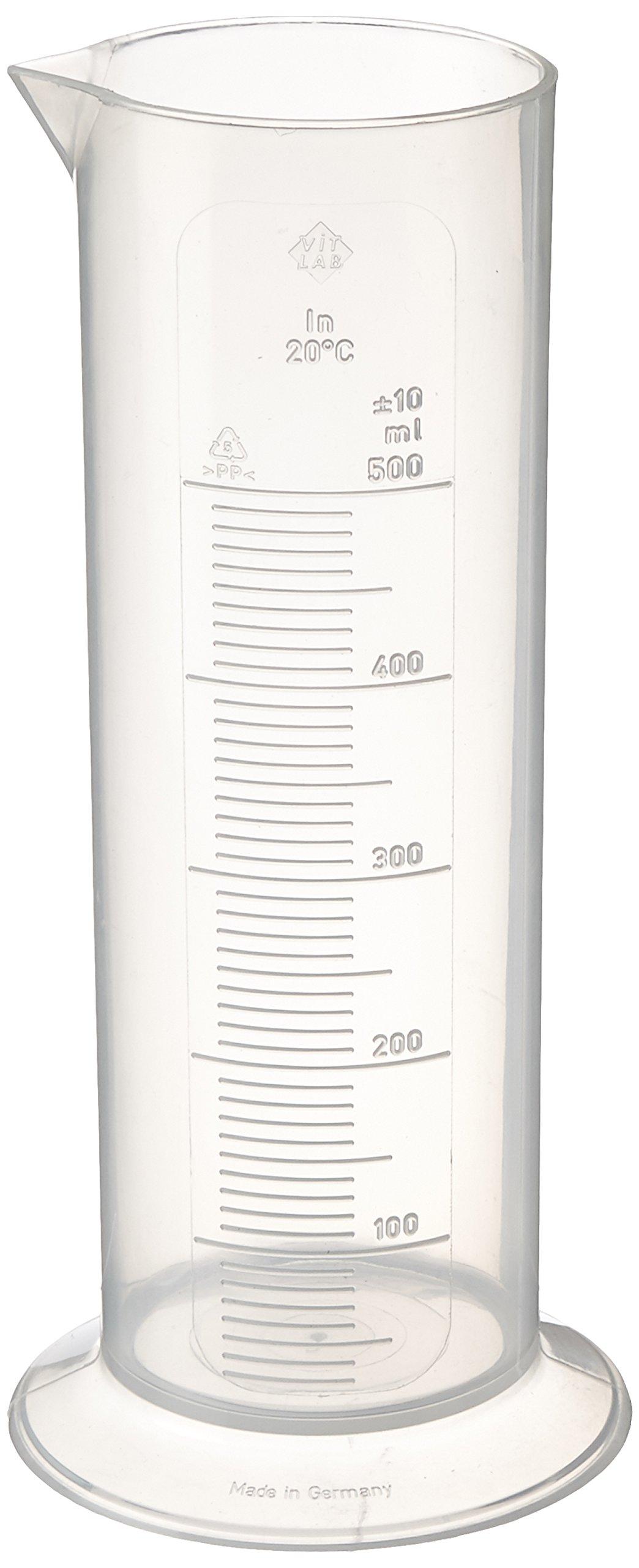 Kaiser 204254 500ml Graduated Cylinder (Black)