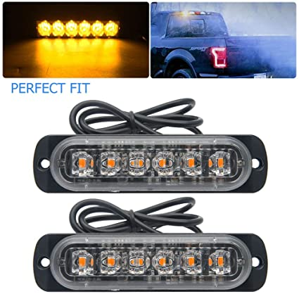 Strobe Lights For Trucks >> Amazon Com Emergency Strobe Lights For Trucks Maso Amber Recovery