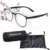 Platamona Anti Fog Safety Glasses for Women Men blue light blocking safety glasses protective glasses Oversize