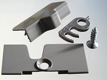 Dometic / Electrolux fridge door lock fixing kit for caravan & motorhome  fridge (7607)