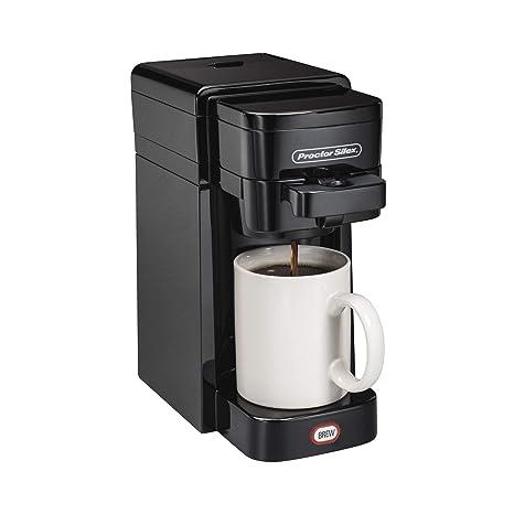 Amazon.com: Proctor Silex único Serve Cafetera eléctrica ...