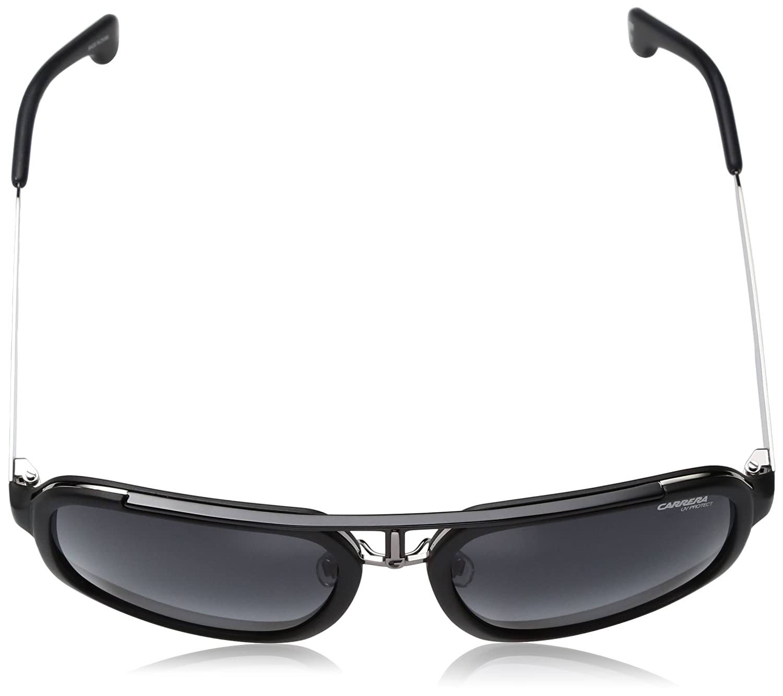 d77f9b3e332 Amazon.com  Carrera Men s Ca1004s Aviator Sunglasses MATTE BLACK  RUTHENIUM DARK GRAY GRADIENT 57 mm  Clothing