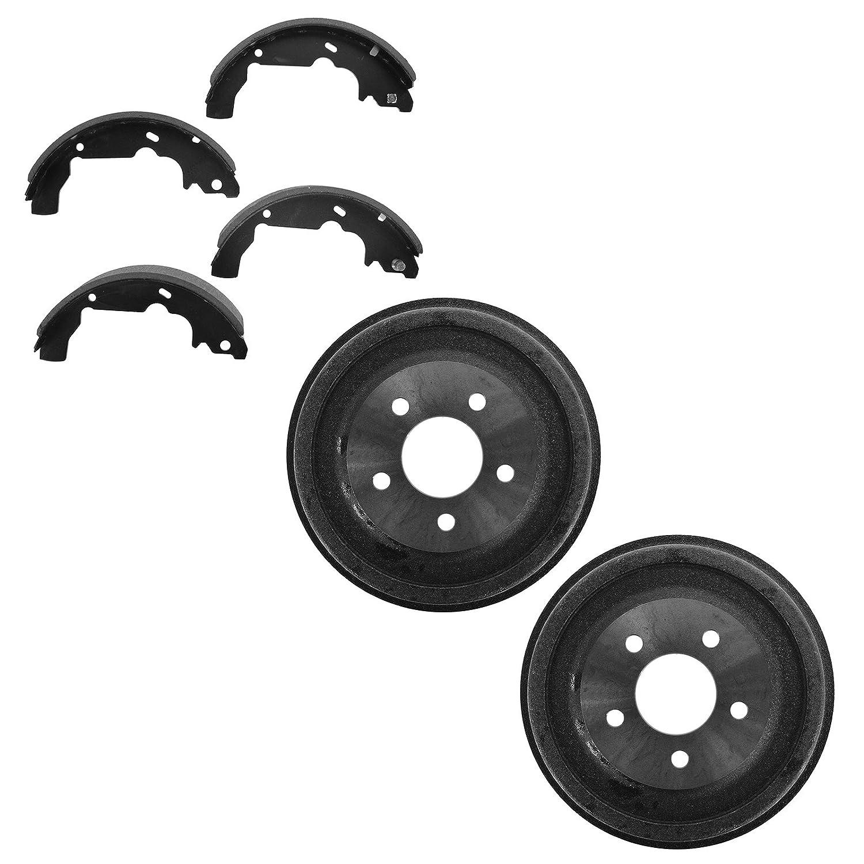 Brake Drum & Shoe Rear Kit Set for Equinox Aztek Torrent Vue/Hybrid 1A Auto