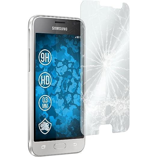 10 opinioni per 2 x Samsung Galaxy J1 (2016) J120 Pellicola Protettiva Vetro Temperato chiaro-
