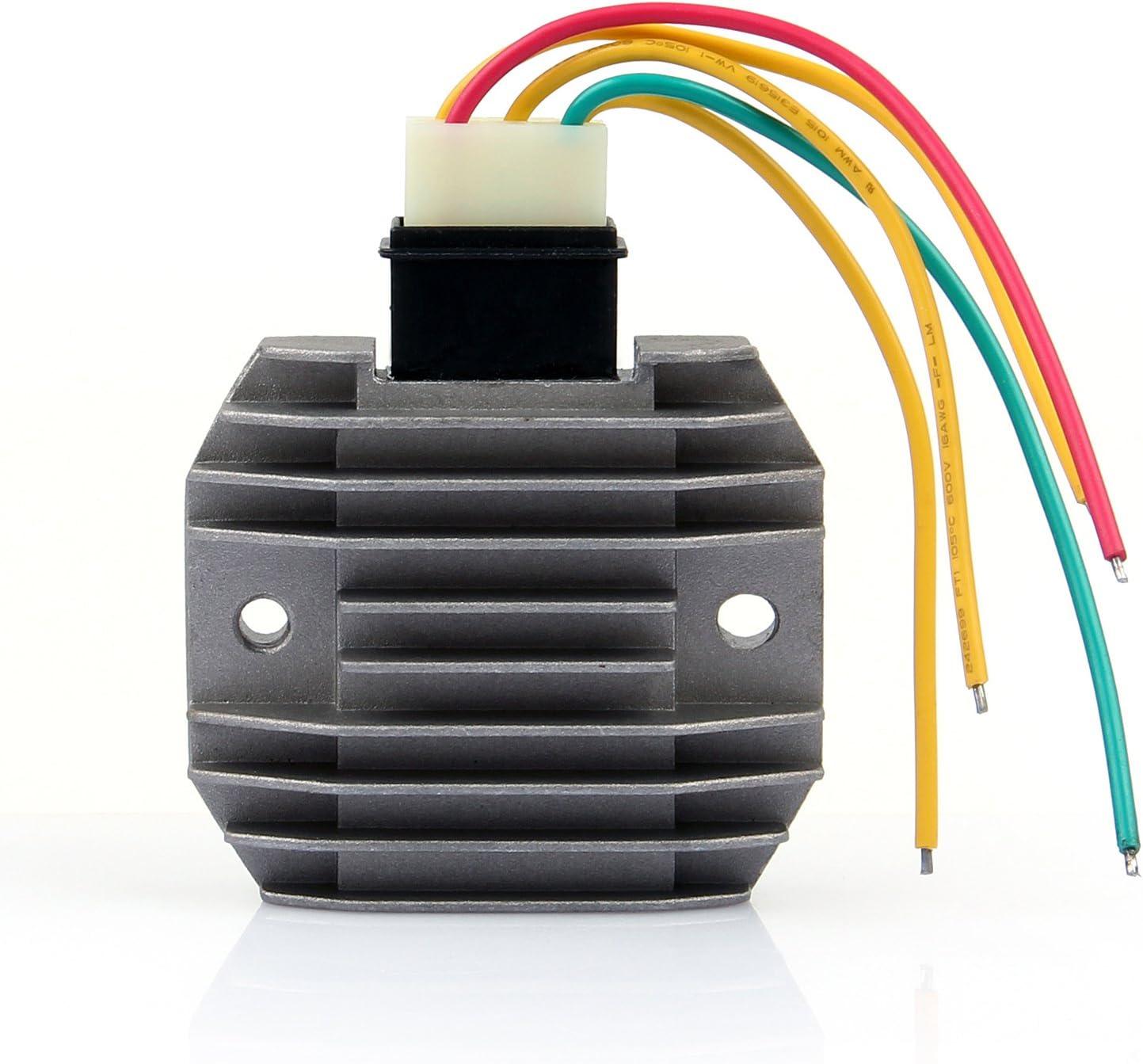 Voltage Rectifier Regulator Fits Yamaha FZ6 FZ6N FZ6S FZR600 TDM850 YZF R1 R6 /&