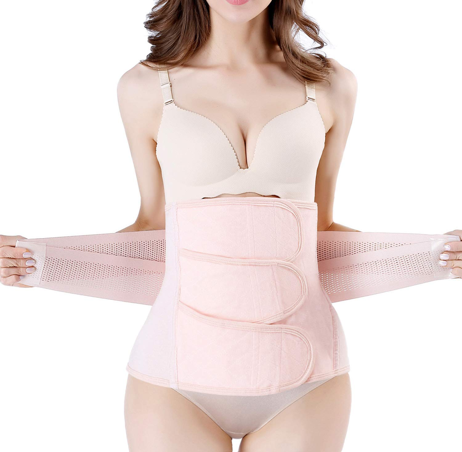 b47e5c8334 Postpartum Girdle C-Section Recovery Belt Back Support Belly Wrap Belly  Band Shapewear product image