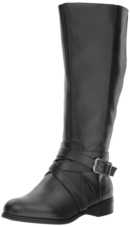 LifeStride Women's Subtlewc Equestrian Boot B075FVW59P 9 W US|Black
