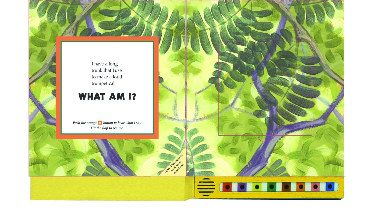Hear and There Book: Safari Sounds (Here and There) by Innovative Kids (Image #1)