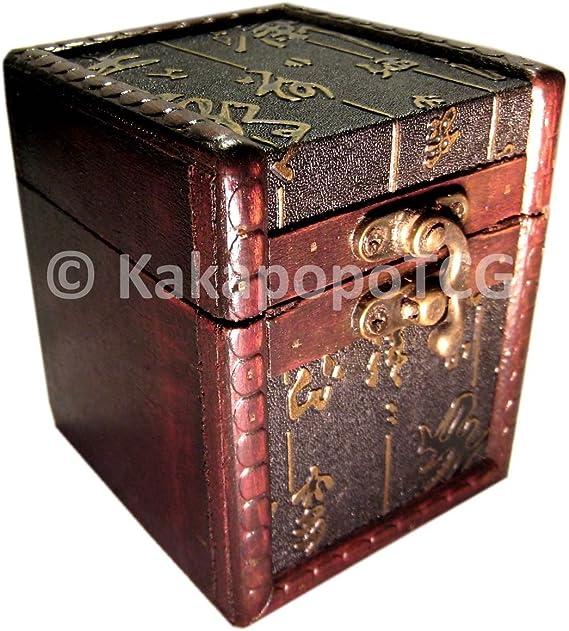 KakapopoTCG Deck Box S01-AS - Caja de Madera para Guardar Cartas ...