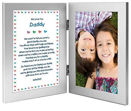 Amazon Poetry Gifts Daddy Gift From Twins Or Children For His