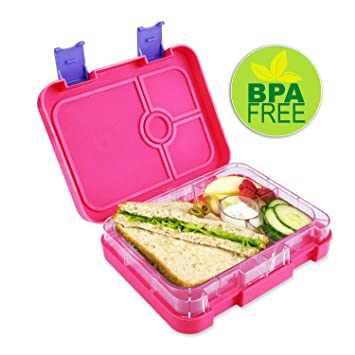 Leakproof Bento Box Style Lunch Container for Adult Meal Prep Or Kids Dishwasher Safe  sc 1 st  Amazon.com & Amazon.com | Leakproof Bento Box Style Lunch Container for Adult ... Aboutintivar.Com